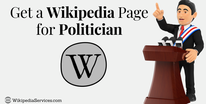 Get a Wikipedia Page for Politician